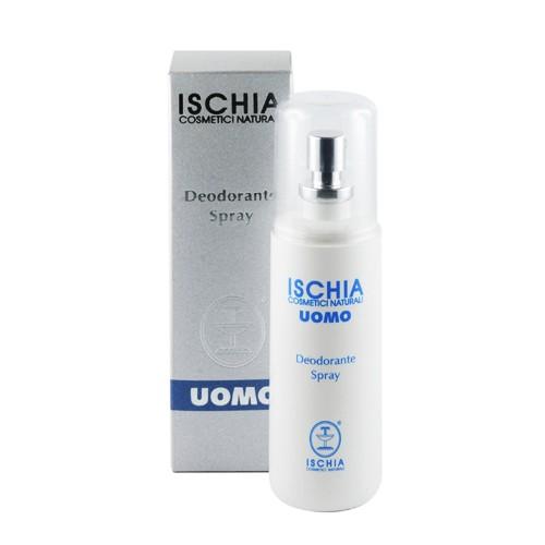 ISCHIA COSMETICI NATURALI   Дезодорант-спрей для мужчин Deodorante Uomo, 100 мл